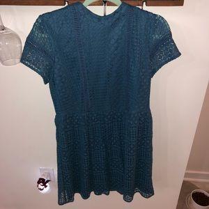 Francesca's midi blue dress. Worn once!